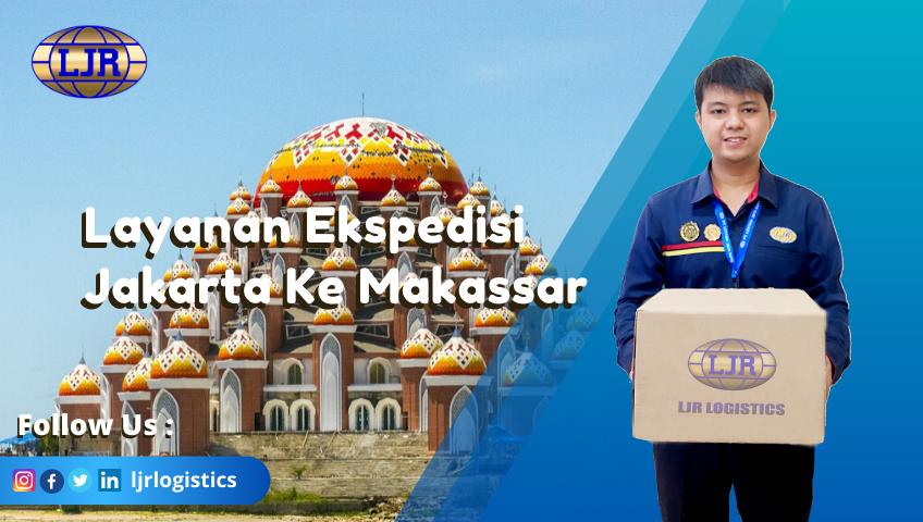 Layan Ekspedisi Jakarta Ke Makassar melalui darat, laut, udara dengan tarif terjangkau.