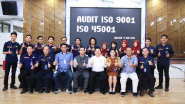 Audit ISO LJR Logistics oleh AQC Midle East